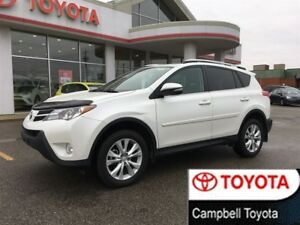 2013 Toyota RAV4 LIMITED--AWD--PWR LIFT GATE--HEATED LEATHER