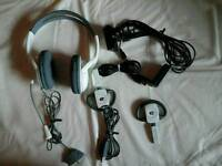Headset and recharge battery