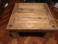 Coffee table - wooden