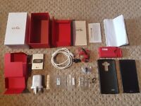LG G4 32GB, Black, Sim free, Unlocked, Boxed, As new