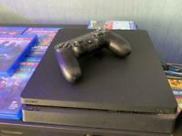 PS4 500GB 6 games one controller great condition