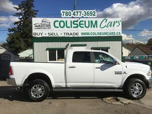 2015 Ram 3500 DODGE LARAMIE, 4X4, LOADED, ONLY 83KM
