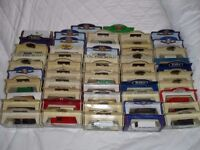 52 boxed Toy cars / Vans - Mostly Oxford Die Cast / Days Gone