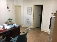 GOOD SIZE G/F TWO ROOMS FOR OFFCE/STORAGE USE £800 A MONTH