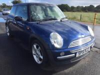 BAIRGAIN! Mini Cooper, long MOT ready to go