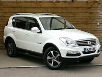 SsangYong Rexton W 2.2 EX 5dr Tip Auto EX-DEMONSTRATOR (grand white) 2017