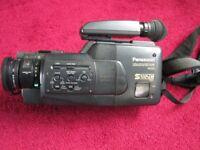PANASONIC S-VHS MOVIE CAMERA KIT