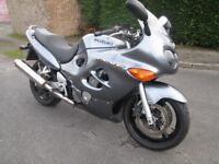 In good all around condition low mileage hpi clear Suzuki GSXF 750 cc.