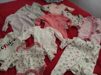 2 car seat and baby girl clothing