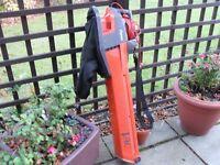 Flymo garden vac/blower.