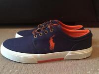 BRAND NEW POLO RALPH LAUREN CANVAS SNEAKERS FOR SALE