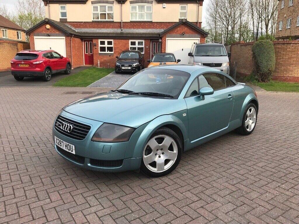 2001 Audi Tt 225 Bhp Bam Engine Quattro Rare Jaspis Green Pearlescent 3 Keys Full Mot Leather