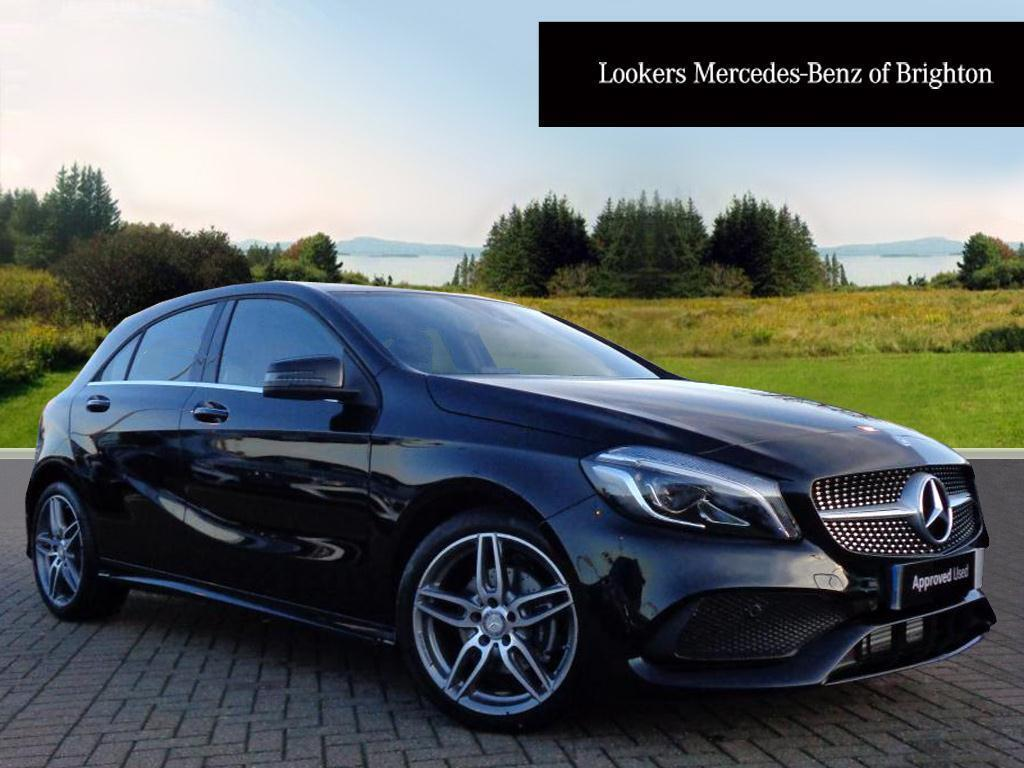 mercedes benz a class a 180 d amg line premium plus black 2016 12 13 in portslade east. Black Bedroom Furniture Sets. Home Design Ideas