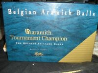 BELGIAN ARAMITH SNOOKER BALLS