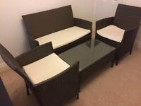 Garden Furniture - Table, Bench and Chairs - reduced to sell