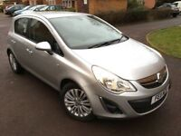 2011 Automatic Vauxhall Corsa 1.4 SE 5 doors (a/c) - Silver - Low Mileage - Full Service History