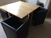Space saver Table and chairs