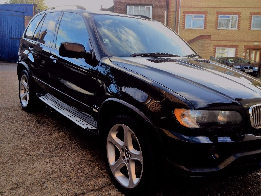 bmw x5 suv v8 lpg cheap to run automatic black leather interior very low mileage. Black Bedroom Furniture Sets. Home Design Ideas