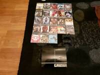 PS3, 2 controllers, Games