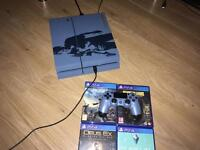 Like new special edition PS4 1000 GB 4 games