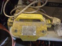 transformer 240v to 110v used