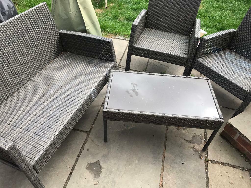 d7109ad9 Rattan furniture set £50 | in Wakefield, West Yorkshire | Gumtree