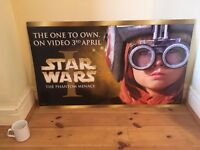 Collectible Official Star War Episode 1 Movie Poster – Anakin Skywalker