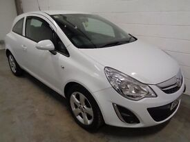 VAUXHALL CORSA , 2013/63 REG , ONLY 32000 MILES + HISTORY, £30 ROAD TAX, LONG MOT, FINANCE, WARRANTY