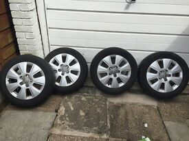 Audi A3 Audi A4 alloys weals good condition