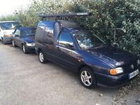 Vw Caddy Blue SDI 1999... BARGIN