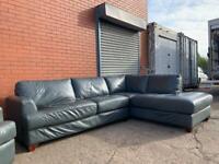 Grey corner sofa delivery 🚚 sofa suite couch