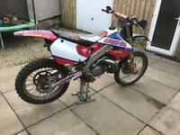 Honda cr250 (swap)