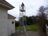 SCAFFOLD TOWER, MI TOWER, 6.5 MTR WORKING HEIGHT, OVER £2000 NEW
