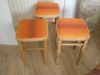 1960 kitchen stools