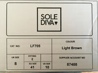 Sole Diva & South Fashion shoes, size 8. Two pairs never worn, third worn once