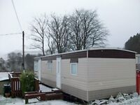 2 Berth Static Caravan in prime location at Glenafton Caravan Park, New Cumnock, Ayrshire for sale