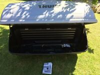 Thule Backup 900 luggage box & Thule 920 3/4 Pro Bike Carrier