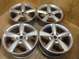 "AUDI Q7 GENUINE SET 4 X 20"" SPEEDLINE ALLOY WHEELS 4L0601025H FULLY REFURBISHED BRAND NEW TYRES M+S"