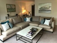 Sofa, L-shaped, super-comfy