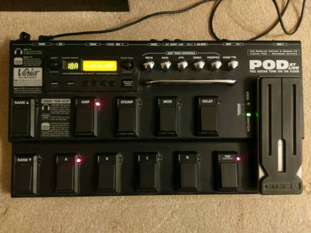 Line 6 POD XT Live Guitar Multi Effects Unit | in St Albans, Hertfordshire  | Gumtree