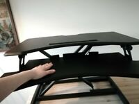 Duronic Sit Stand Desk Converter