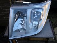 Ford Transit OSF Drivers Headlight 2006 to 2013