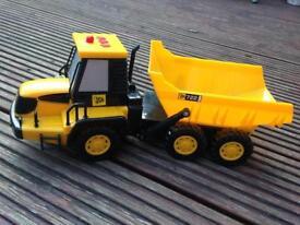 JCB toy vehicle