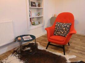 IKEA red armchair original 225£