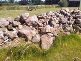 Garden stones. Various sizes. Used for features and rockeries