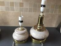 Pair of vintage/retro lamps