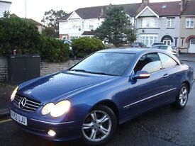 /// MERCEDES BENZ CLK 2.7 CDI AVANTGARDE /// AUTOMATIC DIESEL /// NEWER SHAPE COUPE 53 PLATE /