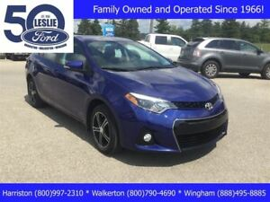2015 Toyota Corolla S | Accident Free | Local Trade | Sedan