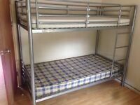 Argos bunk bed and matresses