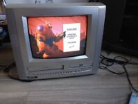 14 INCH PORTABLE TV / DVD / VCR COMBI. £30